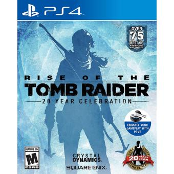 RISE OF THE TOMB RAIDER PS4 GAME (R3,R1) MINT CONDITION