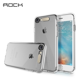 ROCK For IPhone 7 Semi-Transparent Shiny Series Calling LED Light Phone Case - intl Price Philippines