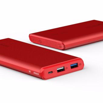 ROMOSS GT Pro 10000mAh Power Bank Quick Charge 3.0 LED Display Li-polymer Battery Dual USB Output (Red) - 5