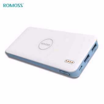 Romoss PB10 10000mAh Li-Polymer Power Bank, Fast Charge, Dual Port PB10-401 (White)