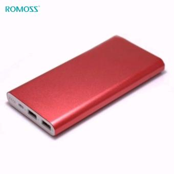 Romoss RT Series Rechargeable battery Romoss RT10 10000mAh super thin Polymer core (Red) - 2