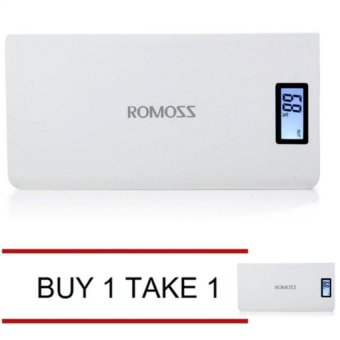 Romoss Sense 6 Plus 20000mAh Power Bank (White) Buy 1 Take 1