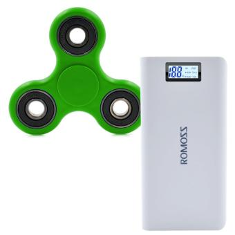 Romoss Sense 6 Plus 20,000mAh Power Bank with Free Hand Spinner