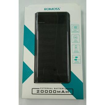 Romoss Sense 6P 20000mah Powerbank (Black)