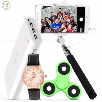 Romoss Sense 9 25000mAh Powerbank w/ FREE Tictime 3386L Watch, Fidget Spinner, and Selfie Stick