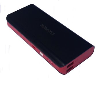 Romoss Solo 5 Limited Edition 10000mAh Powerbank - (Black/Red) Price Philippines