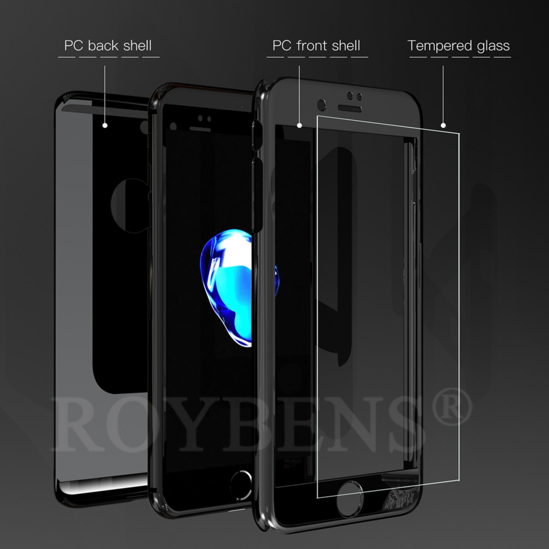... ROYBENS 360? Hard Ultra thin Hybrid Case +Tempered Glass Cover ForiPhone 6/6s ...