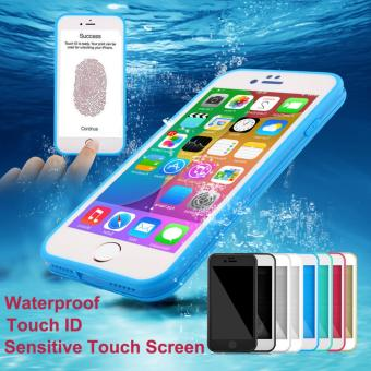 Rubber TPU Waterproof Front & Back Case For iPhone 7 Plus