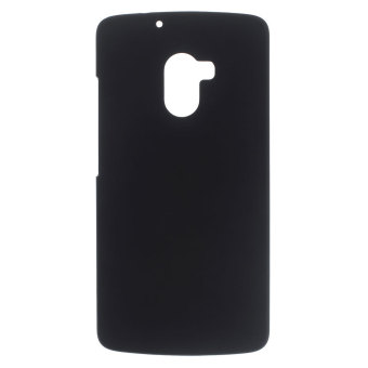Rubberized Hard Shell Case for Lenovo A7010 / Vibe X3 Lite / K4 Note (Black) - intl