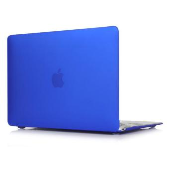 Rubberized Protective Tablet Case For Apple Mac-book 15.4 Inch Pro(Blue) - Intl