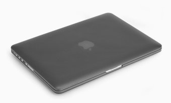 Rubberized Protective Tablet Case For Apple Mac-book 15.4 Inchretina (Black)