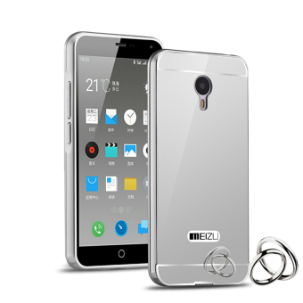 RUILEAN Luxury Metal Aluminum Bumper Case for Meizu M2 Note MeilanNote 2 (Silver) Price Philippines