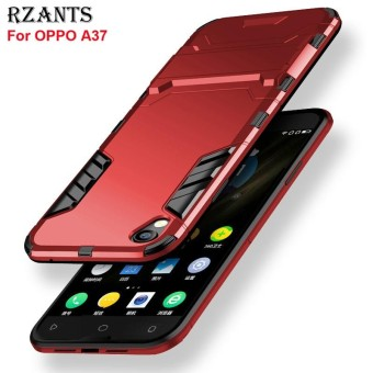 Rzants For A37[Armor Series] Shockproof Kickstand Hard Back Cover Case For OPPO A37