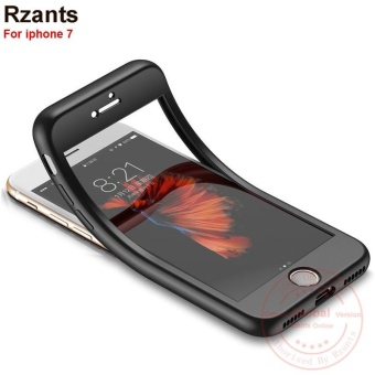 Rzants For iphone 7 Case 360 Degrees Full Protect Soft Back ShockProof Cover - intl