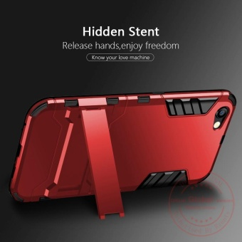 Rzants For OPPO F3 [Armor Series] Shockproof Kickstand Hard Back Cover Case - intl - 5