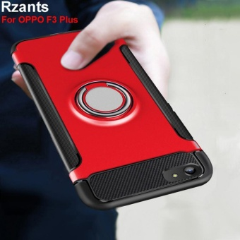 Rzants For OPPO F3 Plus 360 Degrees Rotation with Ring Car Holder Case Cover - intl - 3