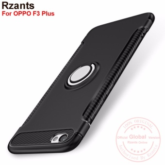Rzants For OPPO F3 Plus 360 Degrees Rotation with Ring Car HolderCase Cover - intl