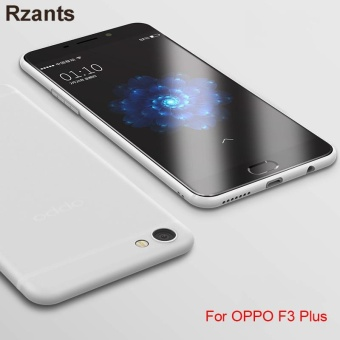 Rzants For OPPO F3 Plus Translucent Ultra-thin Soft Back Case Cover - intl