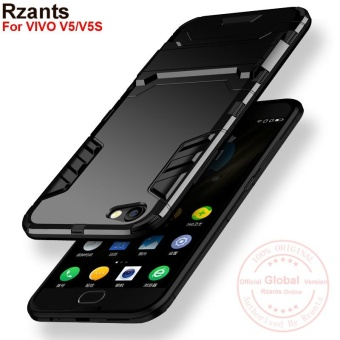 Rzants For VIVO V5/V5S [Armor Series] Shockproof Kickstand Hard Back Cover Case - intl