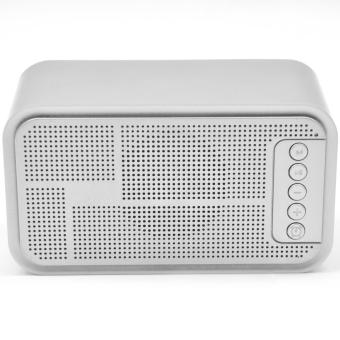 S-61 Wireless Bluetooth Speaker Music Sound Box with Alarm Clock Function LCD Screen Desktop Support Hands-free Call TF Card - 4