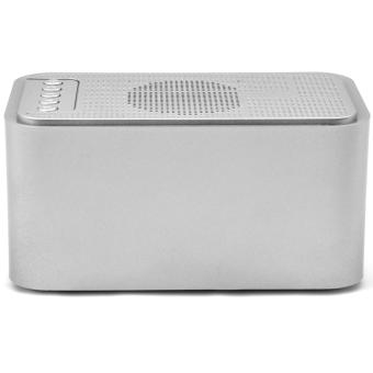 S-61 Wireless Bluetooth Speaker Music Sound Box with Alarm Clock Function LCD Screen Desktop Support Hands-free Call TF Card - 3