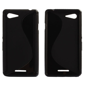 S Line Gel TPU Soft TPU Case Cover for Sony Xperia E3 (Black) -intl Price Philippines