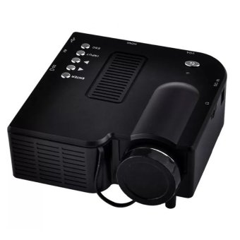 S4 LCD Image System Multimedia LED Projector (Black) Price Philippines