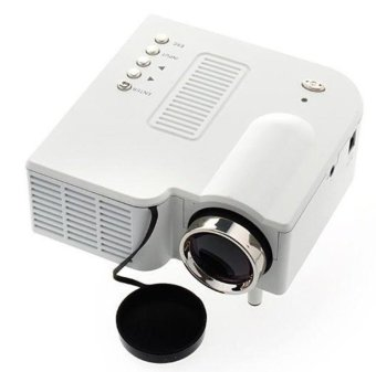 S4 LCD Image System Multimedia LED Projector (White) Price Philippines