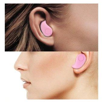 S530 Mini Ultra-Small Wireless Bluetooth Earphone V4.1 ForAndroid/IOS (Pink) - 4