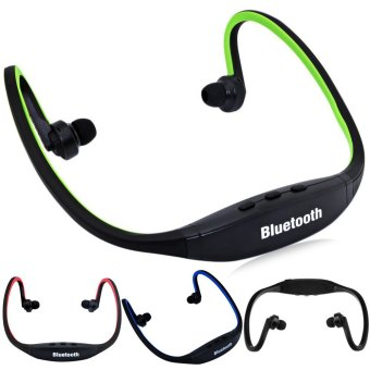 S9 Bluetooth V3.0 Wireless Sports Headphone for Smartphone Tablet PC (Black/Red) - picture 2