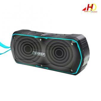 S9 W-KING Outdoor Waterproof Shockproof Dustproof Bluetooth 4.0Wireless Speaker (Blue) - 4