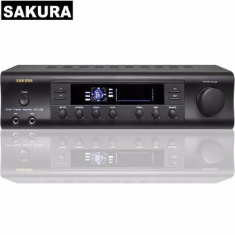 Sakura AV-325 150W X 2 Home Theater Amplifier (Black)