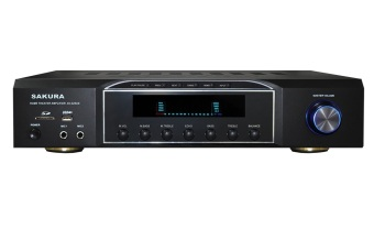 Sakura AV-326US 5-Channel Home Theater MP3 Amplifier