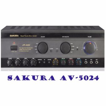 Sakura AV-5024 Amplifier (Black)