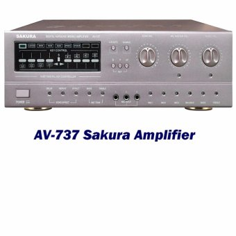 Sakura AV-737 Amplifier(Silver) Price Philippines