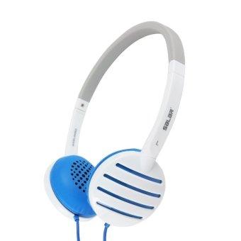 Salar EM310i Over-The-Ear Headphones (White/Blue)