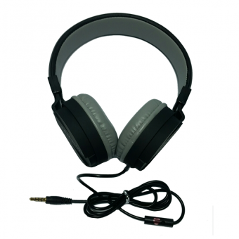Samsung 108dB Headphones with Built-in Microphone (Black)
