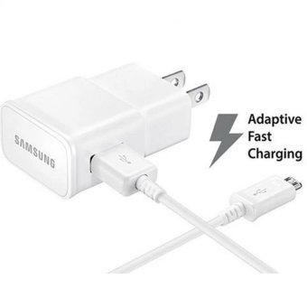 Samsung 15W Qualcomm 3.0 Fast Charger with 2.0 Data Sync Cable For S6 / S6 Edge,S7 / S7 Edge