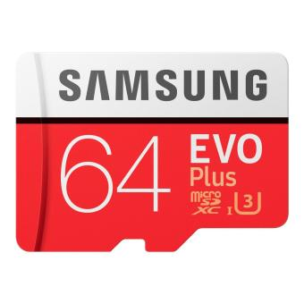 Samsung EVO+ Micro SDXC 64GB MB-MC64G Memory Card Read 100mbps Write 60mbps