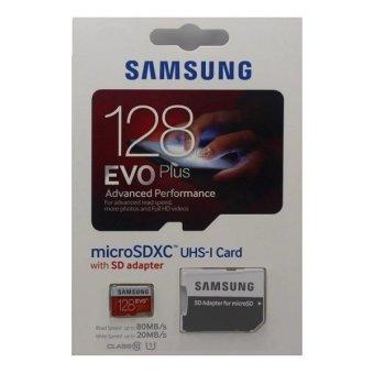 Samsung EVO Plus Micro SD Card Class 10 UHS-1 128GB with ...