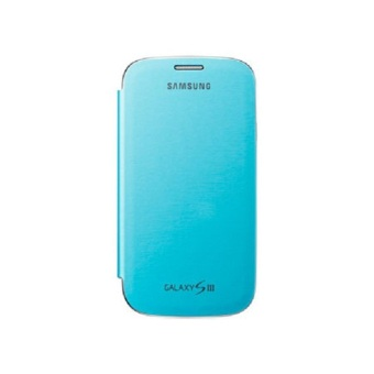 Samsung Flip Cover PC Case for Samsung Galaxy S3 (Blue)