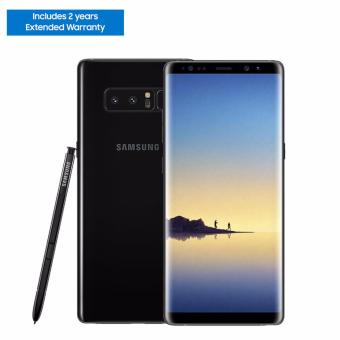 Samsung Galaxy Note8 64GB (Midnight Black) with 2 Years Extended Warranty