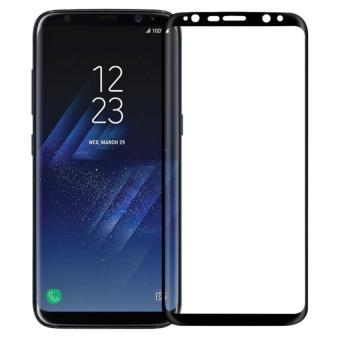 Samsung Galaxy S8 Plus Screen Protector, Nillkin CP+ MAX 3D Touch Compatible-Full Coverage Oleophobic Coating Tempered Glass Screen Protector for Samsung Galaxy S8 Plus / S8+ (Black)   - intl
