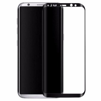 Samsung Galaxy S8 Screen Protector 3D Full Cover rounded edges HDClarity Tempered Glass - intl Price Philippines
