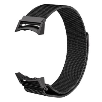 Samsung Gear S2 RM-720 Watch Band, Milanese Magnetic Loop Stainless Steel Watch Strap with Connector Metal Adapter for Samsung Galaxy Gear S2 Smart Watch - intl
