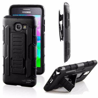 Samsung J7 Prime 2016 Optimus Designer Black Phone Case with kickstand