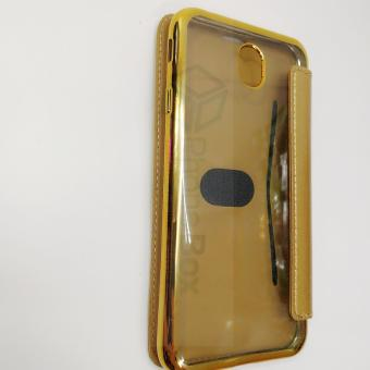 Samsung J7 Pro TPU Flip Nice Leather Coque Capa Cover Case (gold)