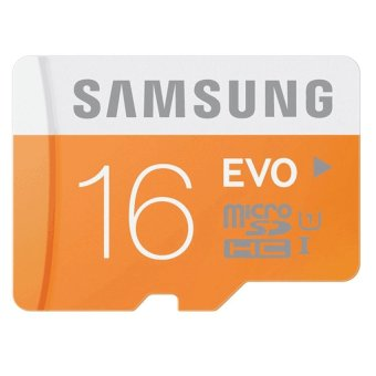 Samsung Micro Sdxc Card Class 10 Uhs-1 16Gb Evo With Sd Adapter(Orange/White) Price Philippines