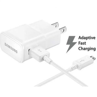 Samsung original 15W Qualcomm 3.0 Fast Charger with 2.0 Data SyncCable For S6 / S6 Edge,S7 / S7 Edge