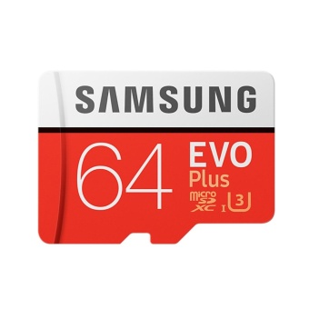 Samsung R100 W60 MB-MC64G EVO Plus 64GB MicroSD Card - intl